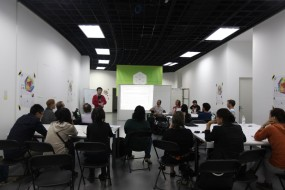 YANG Lei welcomes workshop participants on behalf of CMoDA