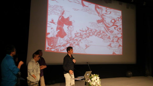 Made By Us teams presenting their work during the 2013 BJDW at CMoDA.