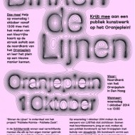 "Invitation ""Binnen de lijnen"", exploring public space through participatory media art, Oct. 1 2014 13:00, Den Haag"