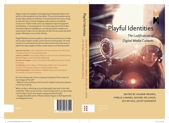 "Edited volume ""Playful Identities: The Ludification of Digital Media Cultures"" (2015). Image credit: Photograph of the game I'd Hide You, Blast Theory, 2012 (courtesy of Blast Theory)."