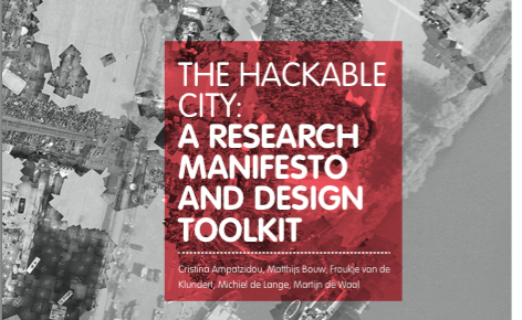 """New publication """"The Hackable City: A Research Manifesto and Design Toolkit"""""""