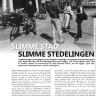 "Article (in Dutch) in AGORA Magazine ""Slimme stad, slimme stedelingen"""
