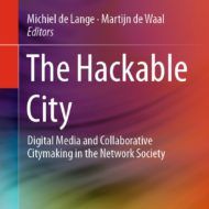 The Hackable City – Open Access edited volume out now!