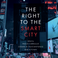 "New book chapter ""The Right to the Datafied City: Interfacing the Urban Data Commons"""